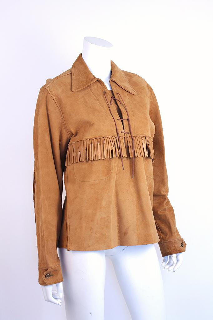 Vintage 40's Fringed Jacket