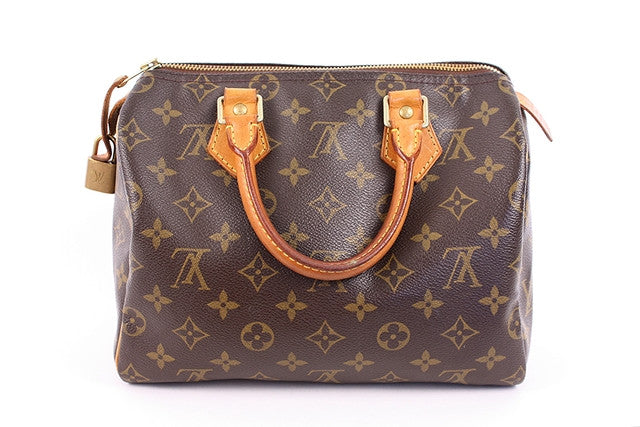 Vintage Louis Vuitton Monogram Speedy Bag 25