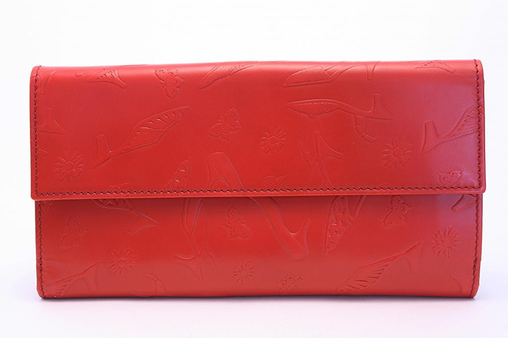 vintage Red Wallet authentic