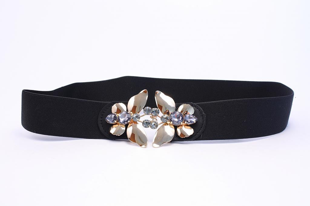 BCBG Jeweled Butterfly Belt