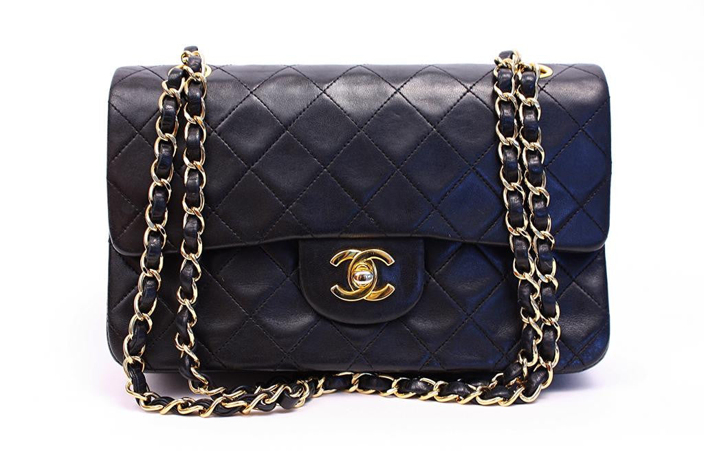 Vintage Chanel Double Flap Handbag
