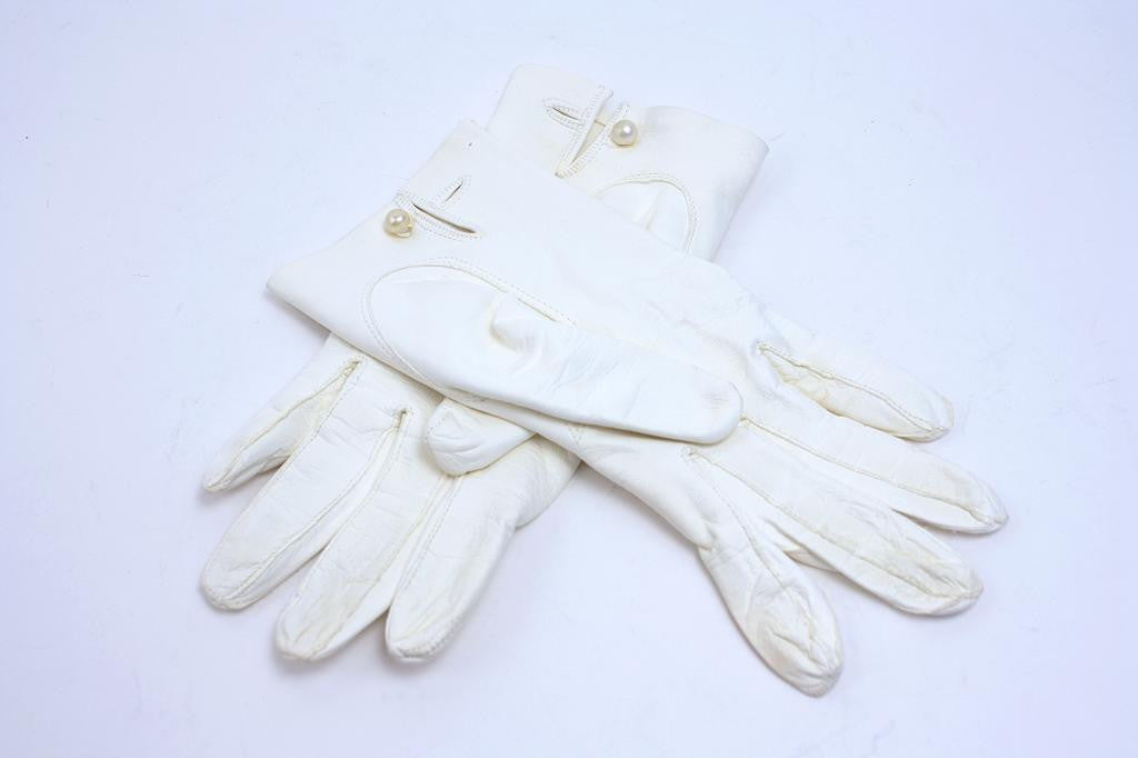 Vintage Italian Leather Gloves