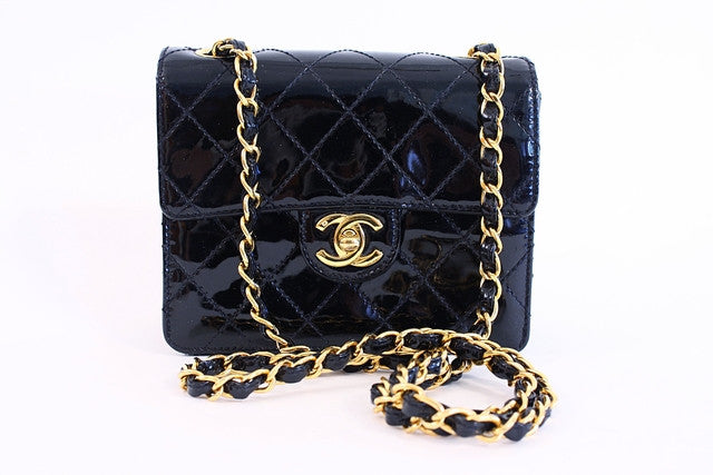 63f870c413da Vintage CHANEL Small Flap Bag at Rice and Beans Vintage
