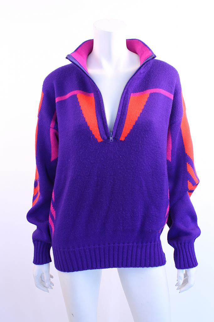 Vintage 80's Obermeyer ski sweater