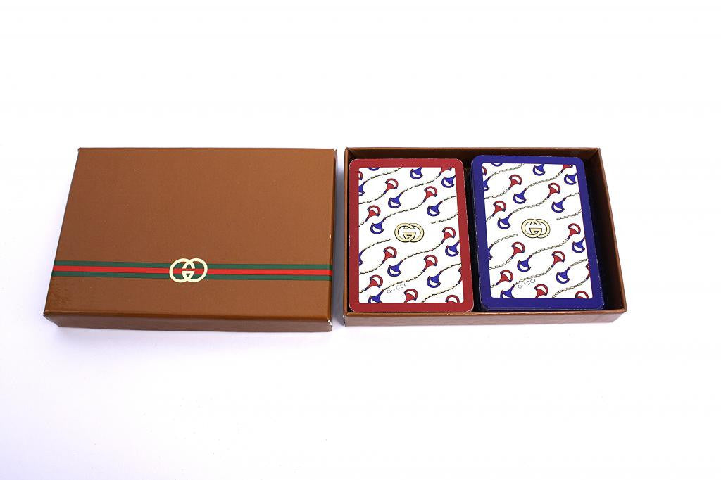Vintage Gucci Poker Playing Cards