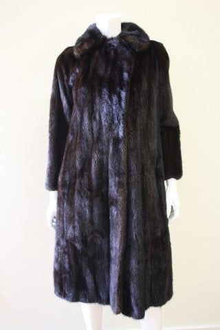 Vintage REVILLON Three-Quarter Length Mink Fur Coat