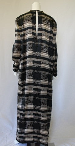 1980s OGNIBENE ZENDMAN  Silk Caftan Dress