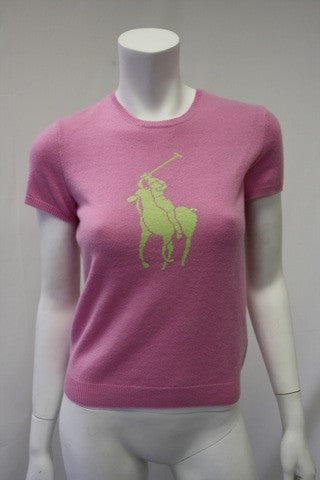 New RALPH LAUREN Cashmere Pony Sweater