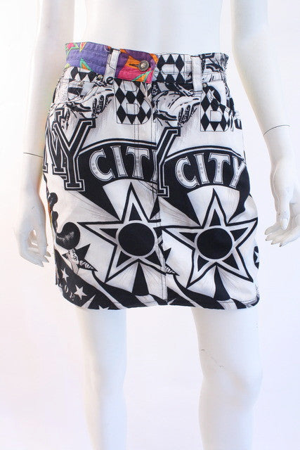 Vintage Gianni Versace City Skirt