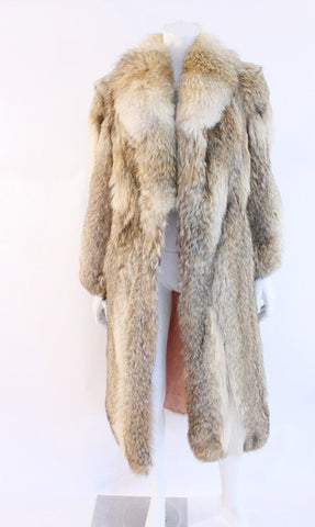 Vintage COYOTE Fur Coat