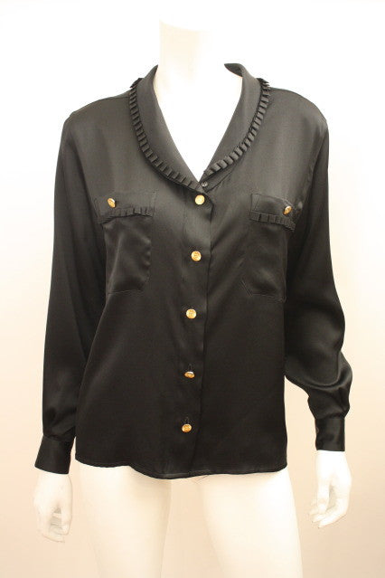 Vintage CHANEL Silk Blouse