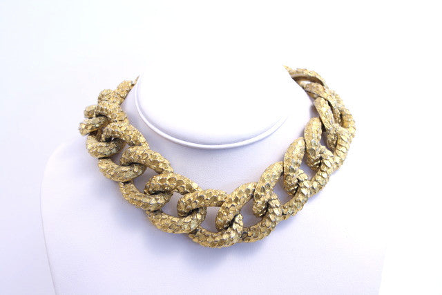 Vintage 70's Mimi di N Chain Link Necklace