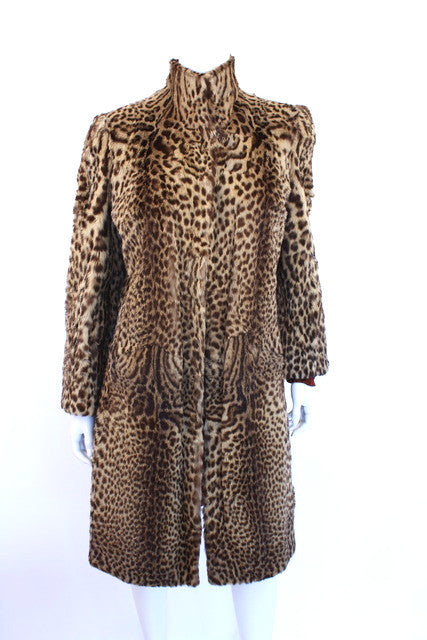 Vintage 40's Geoffrey Cat Fur Coat