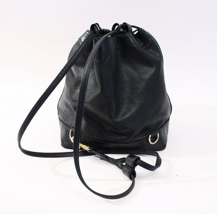 317e206930b20a Rare Vintage CHANEL Studded Bucket Bag at Rice and Beans Vintage