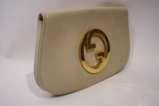 Vintage GUCCI Leather Blondie Clutch