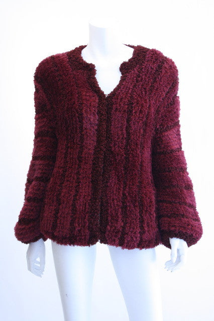 Vintage Fuzzy String Sweater