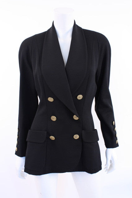 Vintage Chanel Black Jacket