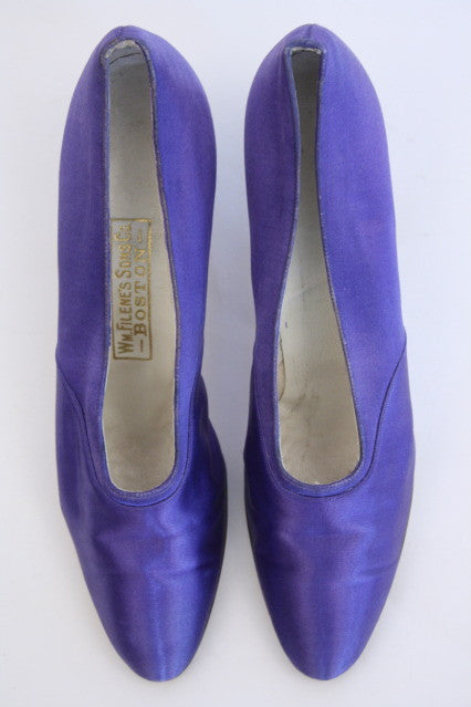 Early 1900's Satin Heels