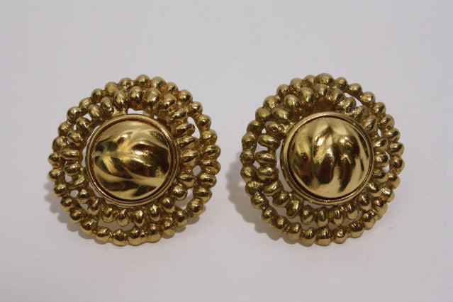 1970s YVES SAINT LAURENT Sunburst Earrings