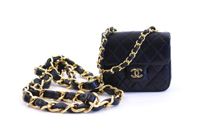 Vintage Chanel Mini Flap Bag Belt