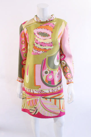 Vintage 60's PUCCI Silk Dress