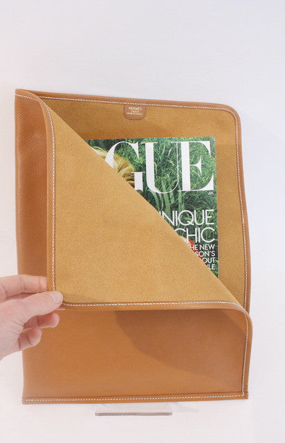 Vintage HERMES Leather Portfolio
