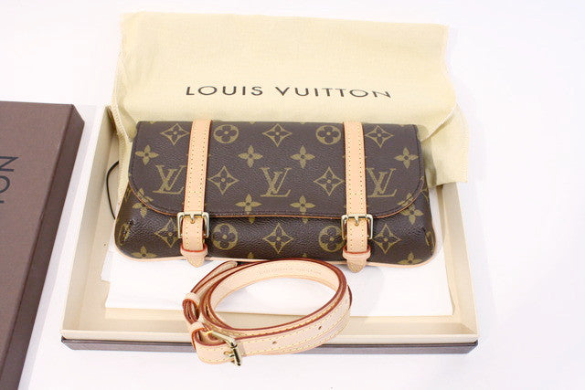 Louis Vuitton Convertible Waist Bag Clutch