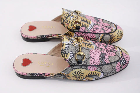 New GUCCI Bengal Princetown Loafers