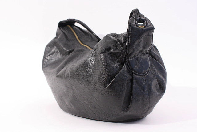Vintage Bottega Veneta Black Bag