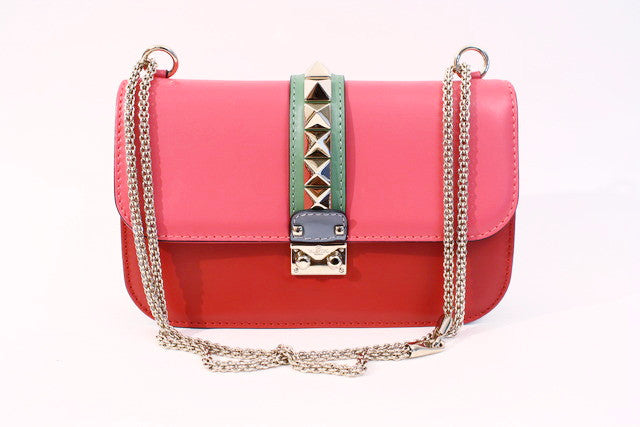 Valentino Medium Glam Lock Rockstud Bag