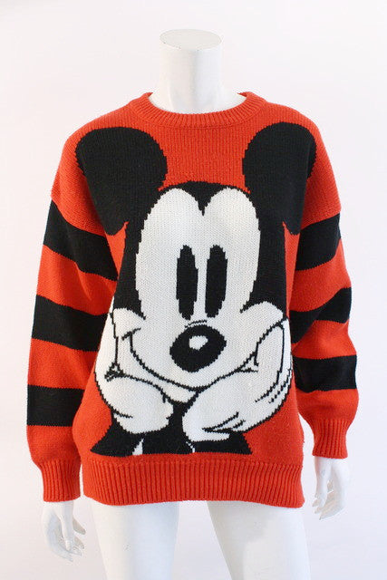 Vintage 80's 90's Mickey Mouse Sweater