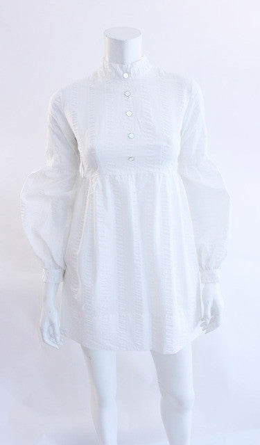 Vintage 60's White Mini Dress