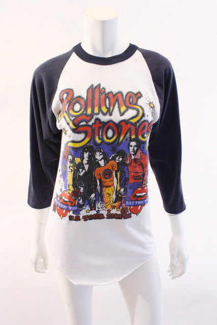 Vintage Rolling Stones Tattoo You Concert T Shirt