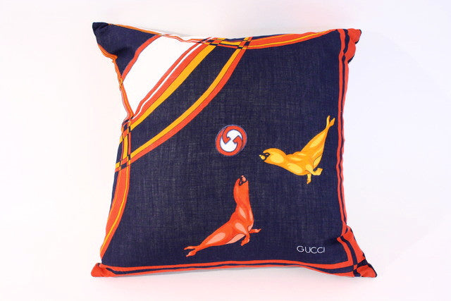 Vintage Gucci Pillow