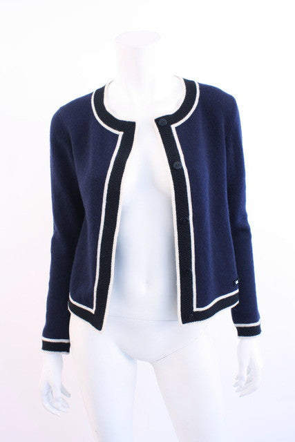 Vintage Chanel Cashmere Cardigan Sweater