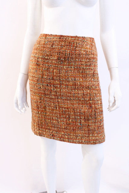 Vintage Chanel Boucle Skirt