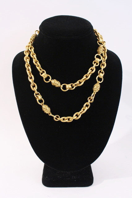 Vintage Chanel Gold Chain Necklace