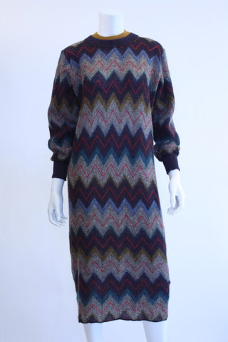 Vintage MISSONI Sweater Dress