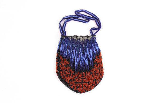 Antique French Beaded Bag