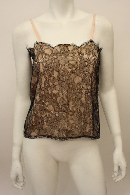 CHANEL Silk Lace Camisole