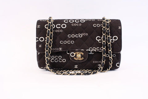 Vintage CHANEL COCO Double Flap Bag