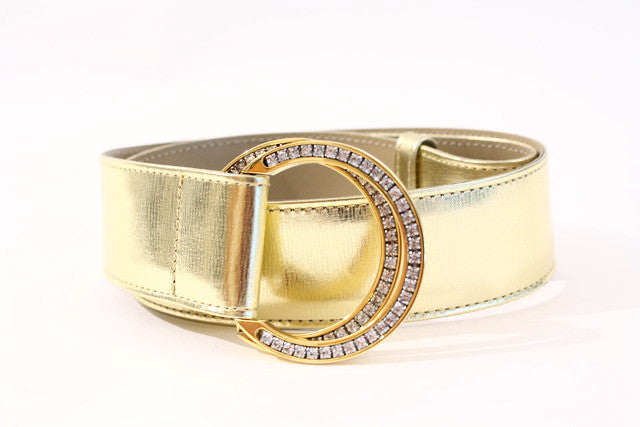 Vintage Gianni Versace Gold Belt