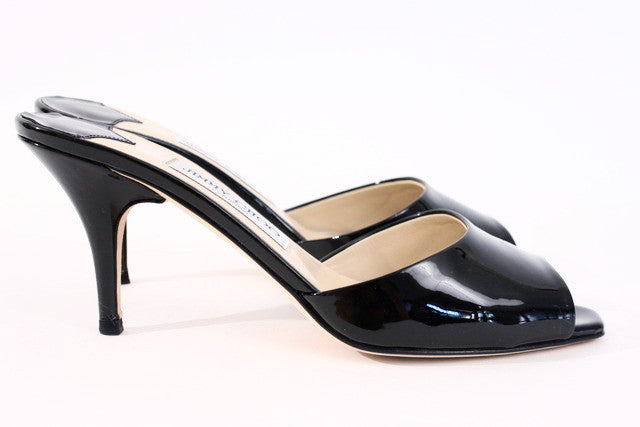 Jimmy Choo Patent Leather Mules