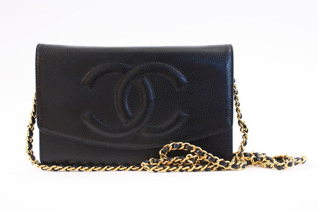 Vintage Chanel Black WOC Bag