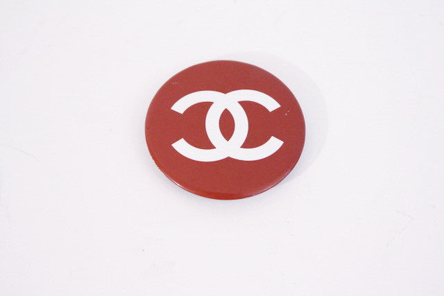Vintage Chanel Logo Pin