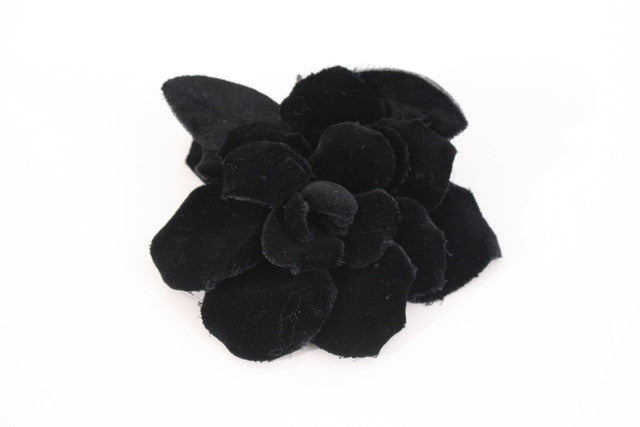 Vintage Chanel Camellia Flower Pin