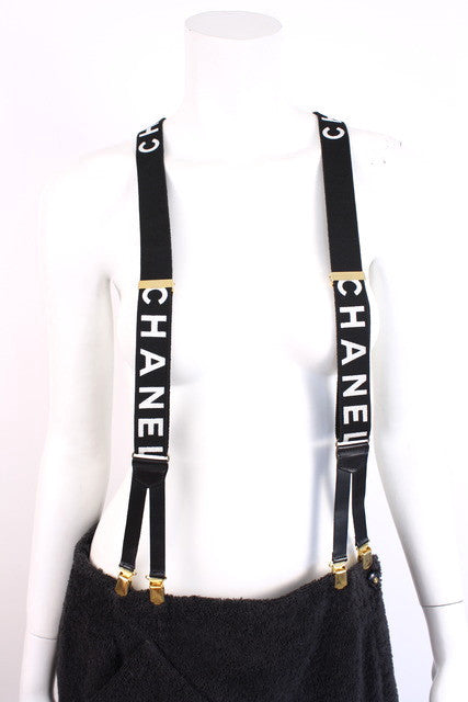 Vintage Chanel Suspenders