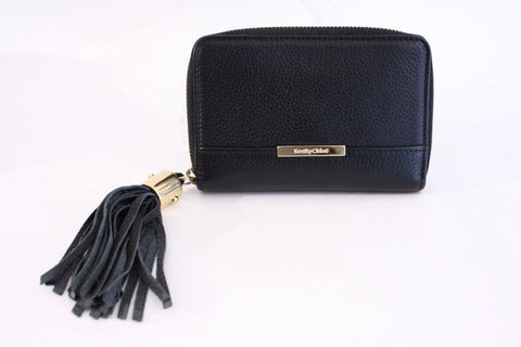 CHLOE Black Leather Wallet