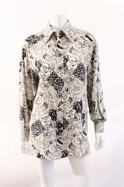 Vintage Chanel blouse