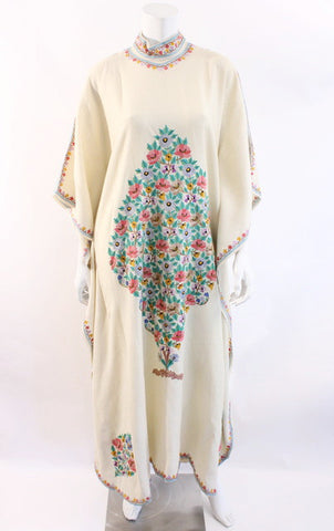 Vintage Embroidered Caftan Dress